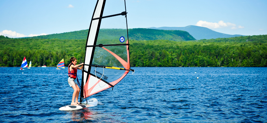 Kingswood Camp for Boys | Windsurfing