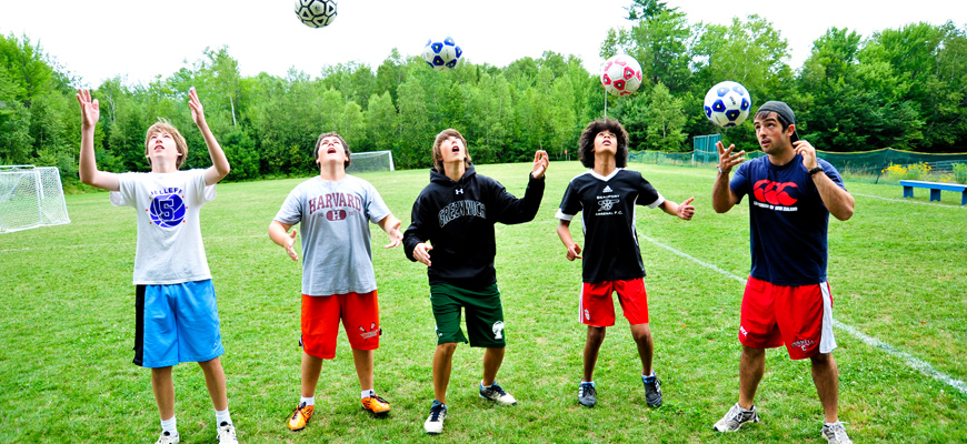 Kingswood Camp for Boys | Soccer Clinic