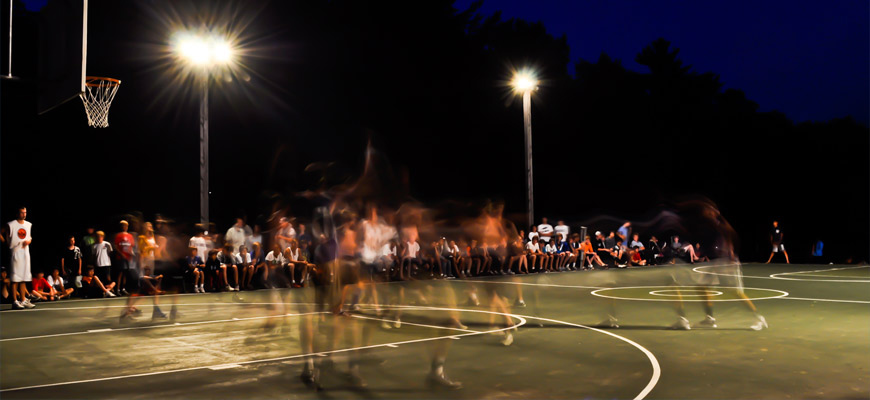 Kingswood Camp for Boys | Night Hoops