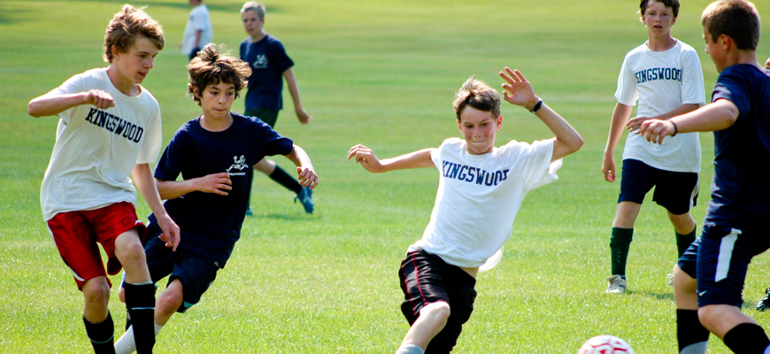 Kingswood Summer Camp for Boys: Soccer Game